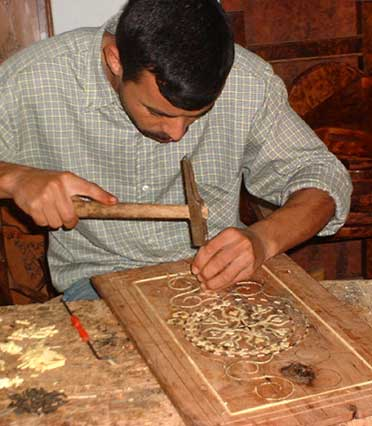 Artisanat Marocaine, <strong>bois du Thuya</strong>, <strong>Essaouira</strong> artisanat