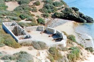 Ile de Mogador sur la plage d'Essaouira