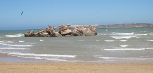 A l'ile de Mogador à Essaouira une prison est placé au coeur de l'ile