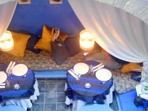 Restaurant à Essaouira, O Bleu Mogador, restaurant Essaouira