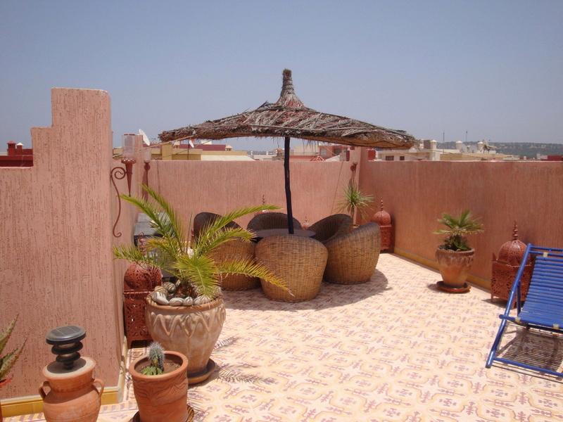villa vendre Essaouira  immobilier  :   terrasse