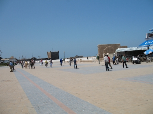Place Moulay Hassan, la médina d'Essaouira, Essaouira
